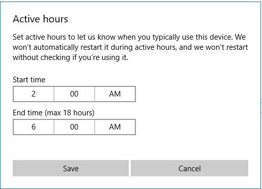Active Hours - Bonus Zone
