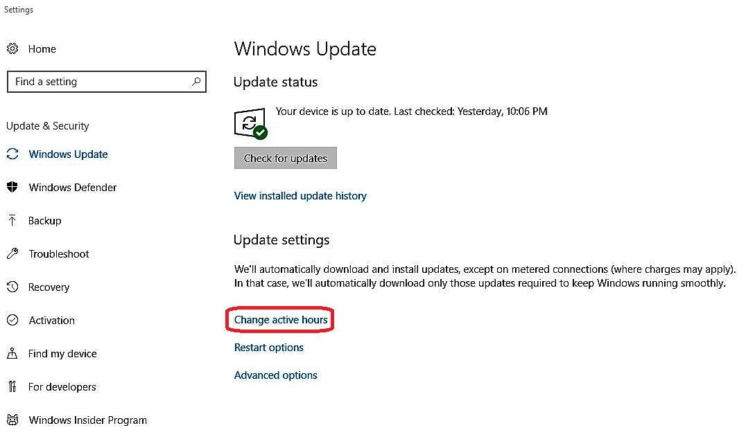 Bonus Zone- Windows update